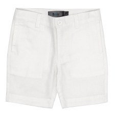 Cotton Woven Shorts White 6