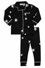 Grandpa PJ W/ Stars Black 18M