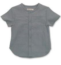 Rib S/S Shirt Blue 5