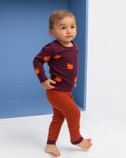 Knit Apple Baby Set Plum 12M