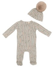 Charm Stretchie Set Beige 12M