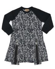 Alphabet Dress Black 6