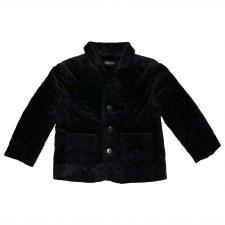Quilted Velvet Blazer Black 6