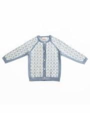 Knit Cardigan Blue/Grey 3
