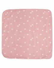 Blanket W/ Butterflies Blush