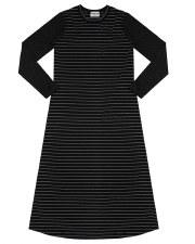 NG W/ Metallic Stripes Black P