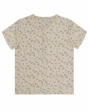 S/S Star Print Shirt Sand 2