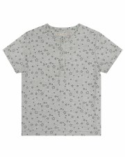 S/S Star Print Shirt Grey 2