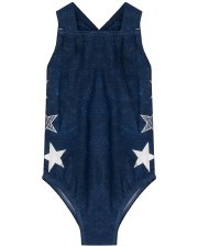 Denim Bathing Suit Blue 4
