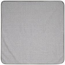Houndstooth Blanket Grey