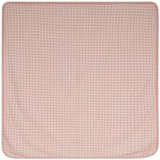 Houndstooth Blanket Pink