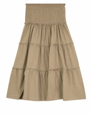 Teen Tiered Skirt W/ Smocking