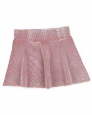Denim Wash Skirt Pink 6