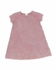 Denim Wash S/S Dress Pink 2T