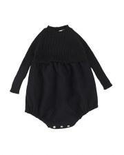 Analogie Knit Bubble Black 6M