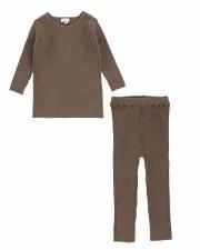 Knit Crewneck Set