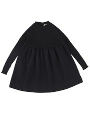 Analogie Knit Dress Black 6