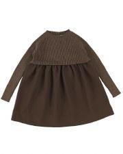 Analogie Knit Dress Walnut 6