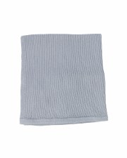 Knit Blanket Blue