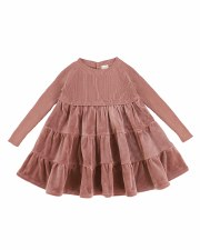 Knit Dress Rosewood 3T
