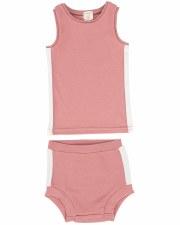 Linear Bloomer Set Pink/White