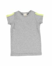 Linear Boys V-Tee Grey/Neon 5T
