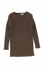 Analogie Rib Knit Sweater Waln