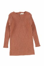 Analogie Rib Knit Sweater Salm