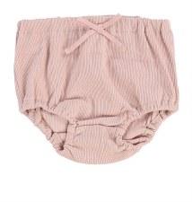 Lil Legs Rib Bloomers Blush 12
