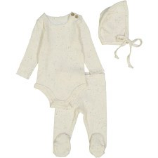Ribbed Set Colored Speckle 12M