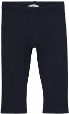Ribbed Leggings Navy 12M