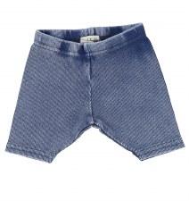 Lil Legs Ribbed Shorts Blue Wa