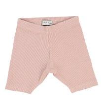 Lil Legs Ribbed Shorts Blush 2