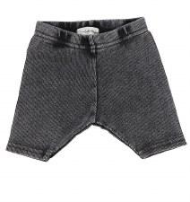 Lil Legs Ribbed Shorts Grey Wa