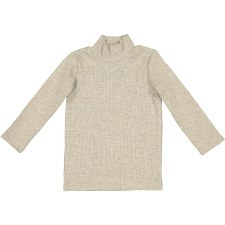 Rib Turtleneck Oatmeal 9M