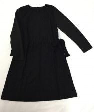 Dress W/ Sidetie Black 8