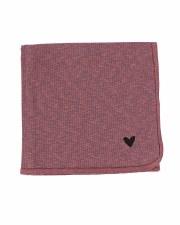 Marled Blanket Pink