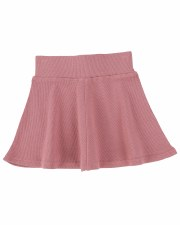Ribbed Skirt Blush 7