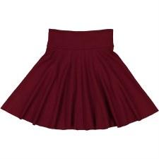 Circle Ponte Skirt Burgundy 6