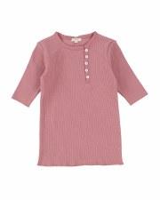 Sideway 3/4 Sleeve Tshirt Blus