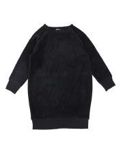 Analogie Velour Dress Black 3