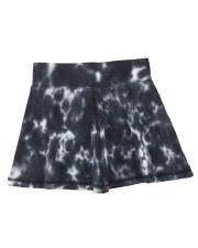 Watercolor Skirt Black 6X