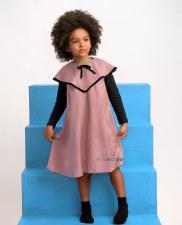 Dress W/ Collar Pink 4