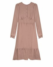 Teen Dress W/ Bottom Ruffle Bl