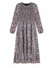 Teen Floral Midi Dress Multi L
