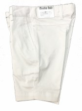 Cotton Shorts White 6