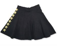 Skirt W/ Gold Stars Black 6