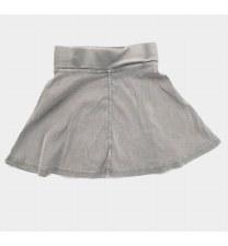 Tshirt Skirt Grey 18
