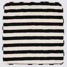 Striped Blanket Black/White