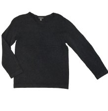 Knit Star Top Charcoal 4